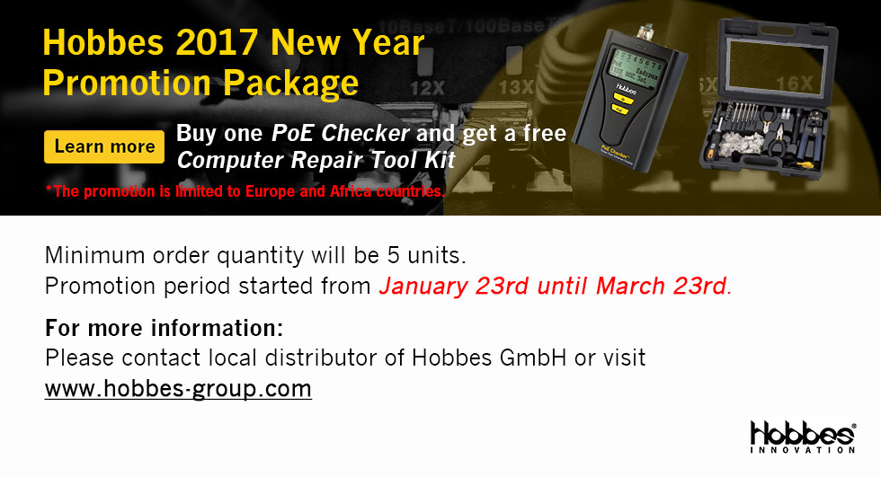 Hobbes 2017 New Year  Promotion Package